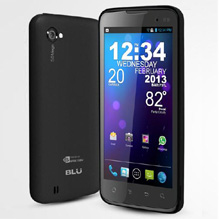 BLU Quattro 4.5 for Solavei
